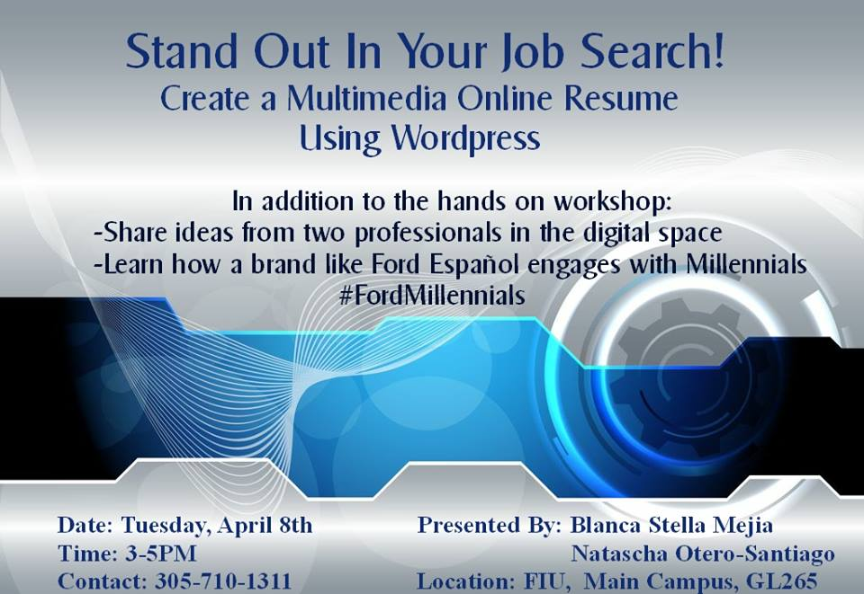speaking miami FIU Speaking at FIU to Millennials